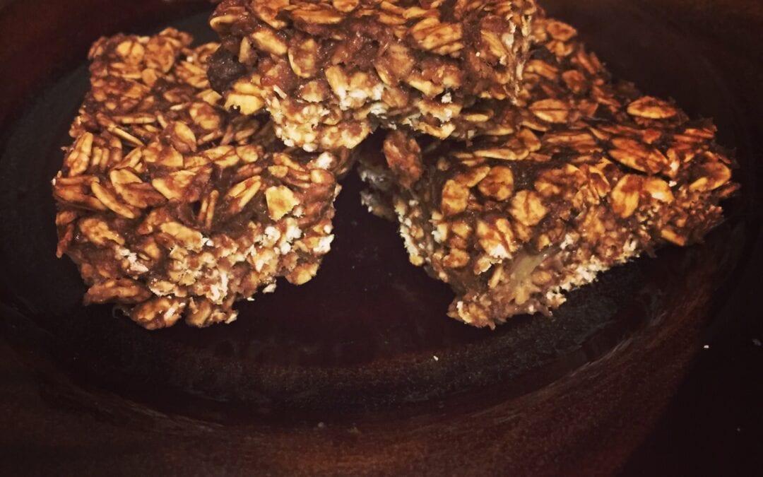 Recipe-Super easy Granola Bars
